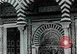 Image of Madrassa Islamic school outside a mosque Middle East, 1936, second 7 stock footage video 65675072701