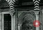 Image of Madrassa Islamic school outside a mosque Middle East, 1936, second 8 stock footage video 65675072701