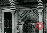 Image of Madrassa Islamic school outside a mosque Middle East, 1936, second 9 stock footage video 65675072701