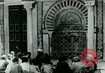 Image of Madrassa Islamic school outside a mosque Middle East, 1936, second 12 stock footage video 65675072701