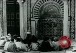 Image of Madrassa Islamic school outside a mosque Middle East, 1936, second 13 stock footage video 65675072701