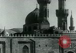 Image of Madrassa Islamic school outside a mosque Middle East, 1936, second 41 stock footage video 65675072701