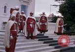 Image of palace guards Tunis Tunisia, 1959, second 10 stock footage video 65675072714