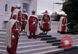 Image of palace guards Tunis Tunisia, 1959, second 14 stock footage video 65675072714