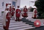 Image of palace guards Tunis Tunisia, 1959, second 15 stock footage video 65675072714
