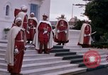 Image of palace guards Tunis Tunisia, 1959, second 16 stock footage video 65675072714