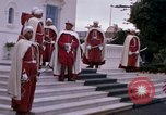 Image of palace guards Tunis Tunisia, 1959, second 17 stock footage video 65675072714