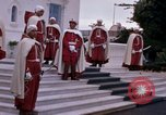 Image of palace guards Tunis Tunisia, 1959, second 19 stock footage video 65675072714