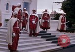 Image of palace guards Tunis Tunisia, 1959, second 20 stock footage video 65675072714