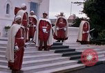 Image of palace guards Tunis Tunisia, 1959, second 21 stock footage video 65675072714