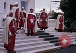 Image of palace guards Tunis Tunisia, 1959, second 23 stock footage video 65675072714