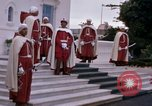 Image of palace guards Tunis Tunisia, 1959, second 24 stock footage video 65675072714