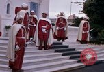 Image of palace guards Tunis Tunisia, 1959, second 27 stock footage video 65675072714