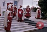 Image of palace guards Tunis Tunisia, 1959, second 28 stock footage video 65675072714