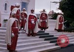 Image of palace guards Tunis Tunisia, 1959, second 29 stock footage video 65675072714
