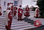 Image of palace guards Tunis Tunisia, 1959, second 30 stock footage video 65675072714