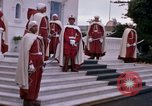 Image of palace guards Tunis Tunisia, 1959, second 31 stock footage video 65675072714