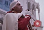 Image of palace guards Tunis Tunisia, 1959, second 37 stock footage video 65675072714