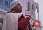 Image of palace guards Tunis Tunisia, 1959, second 38 stock footage video 65675072714