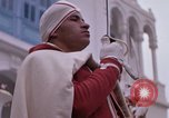 Image of palace guards Tunis Tunisia, 1959, second 39 stock footage video 65675072714