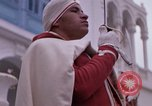 Image of palace guards Tunis Tunisia, 1959, second 42 stock footage video 65675072714