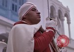 Image of palace guards Tunis Tunisia, 1959, second 46 stock footage video 65675072714