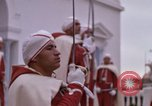 Image of palace guards Tunis Tunisia, 1959, second 47 stock footage video 65675072714