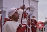 Image of palace guards Tunis Tunisia, 1959, second 49 stock footage video 65675072714