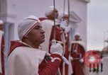 Image of palace guards Tunis Tunisia, 1959, second 51 stock footage video 65675072714