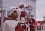 Image of palace guards Tunis Tunisia, 1959, second 53 stock footage video 65675072714