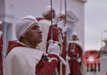 Image of palace guards Tunis Tunisia, 1959, second 54 stock footage video 65675072714