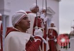 Image of palace guards Tunis Tunisia, 1959, second 55 stock footage video 65675072714