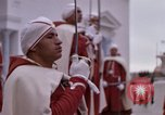 Image of palace guards Tunis Tunisia, 1959, second 58 stock footage video 65675072714