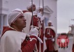 Image of palace guards Tunis Tunisia, 1959, second 59 stock footage video 65675072714