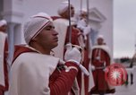 Image of palace guards Tunis Tunisia, 1959, second 62 stock footage video 65675072714