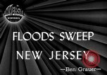 Image of floods New Jersey United States USA, 1945, second 2 stock footage video 65675072725