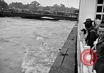Image of floods New Jersey United States USA, 1945, second 15 stock footage video 65675072725