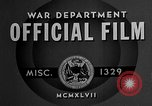 Image of offices training West Point New York USA, 1947, second 2 stock footage video 65675072750