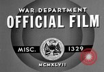 Image of offices training West Point New York USA, 1947, second 4 stock footage video 65675072750