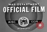 Image of offices training West Point New York USA, 1947, second 6 stock footage video 65675072750
