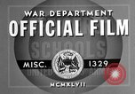 Image of offices training West Point New York USA, 1947, second 7 stock footage video 65675072750