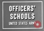 Image of offices training West Point New York USA, 1947, second 9 stock footage video 65675072750