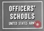 Image of offices training West Point New York USA, 1947, second 10 stock footage video 65675072750