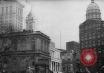 Image of City Hall New York City USA, 1940, second 3 stock footage video 65675072762