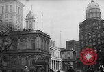 Image of City Hall New York City USA, 1940, second 4 stock footage video 65675072762