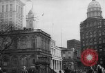 Image of City Hall New York City USA, 1940, second 5 stock footage video 65675072762