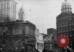 Image of City Hall New York City USA, 1940, second 6 stock footage video 65675072762