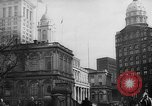 Image of City Hall New York City USA, 1940, second 7 stock footage video 65675072762