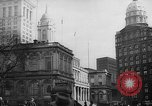 Image of City Hall New York City USA, 1940, second 9 stock footage video 65675072762