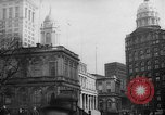 Image of City Hall New York City USA, 1940, second 10 stock footage video 65675072762